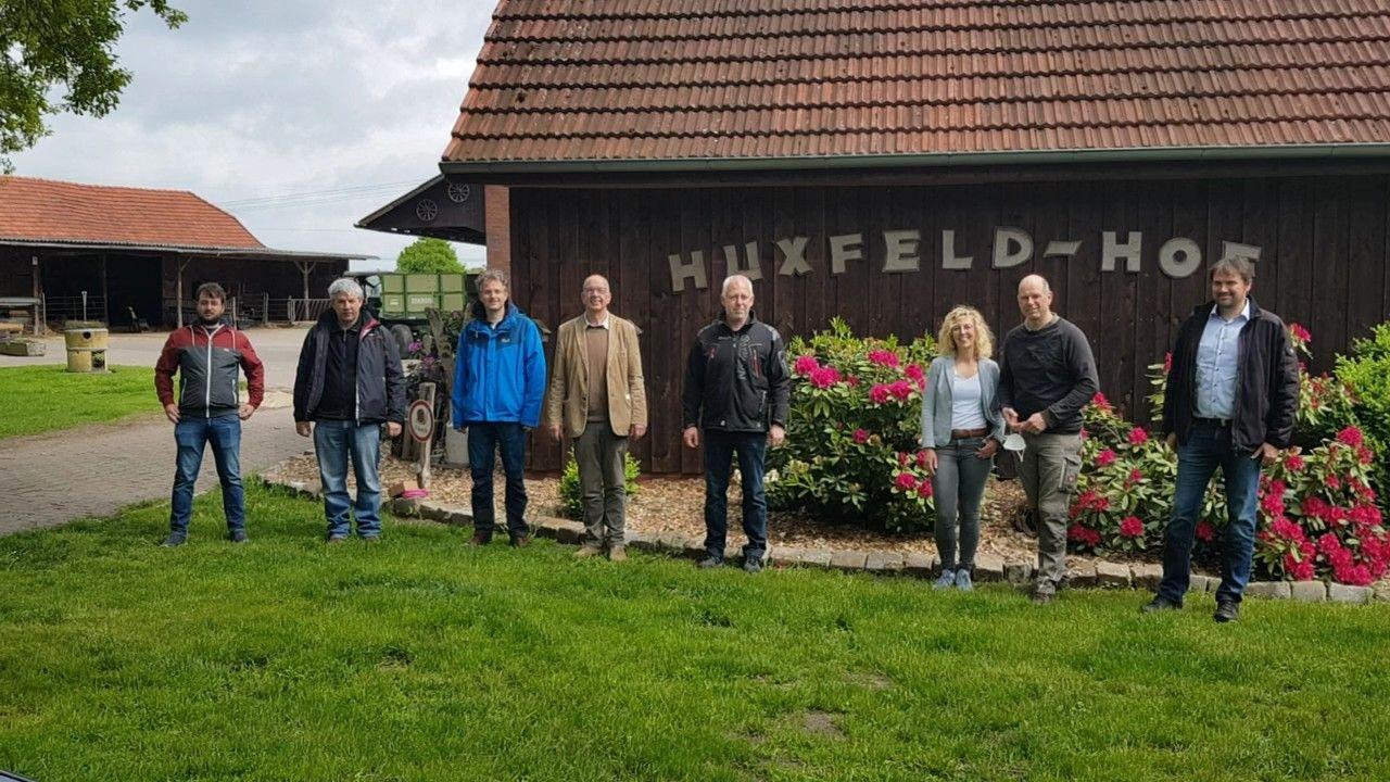 Installationstermin Huxfeld-Hof